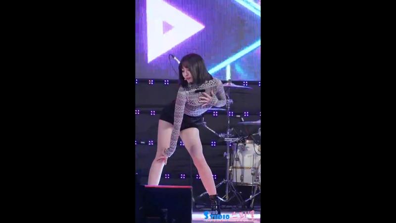 170608 Brave Girls - High Heels (Eunji) @ 2017 Wonju Citizen's Health Concert