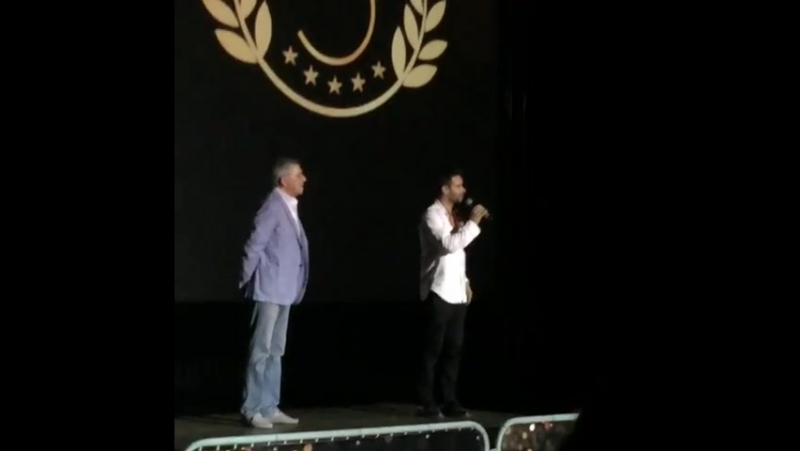 Петр Федоров представляет Ледокол на фестивале Короче