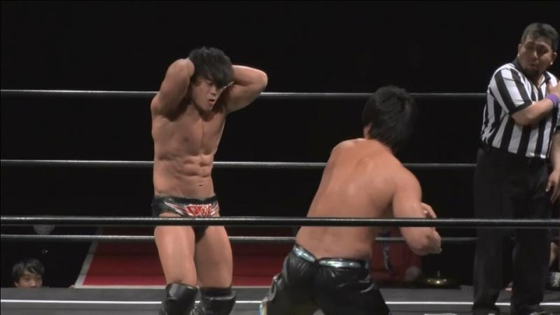 HARASHIMA vs. Tetsuya Endo (DDT - D-Ou Grand Prix 2018 In Shin-Kiba - Day 7)