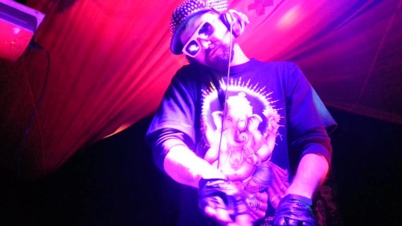 GOA-сет DJ SpeedGun на фестивале Parma Valley