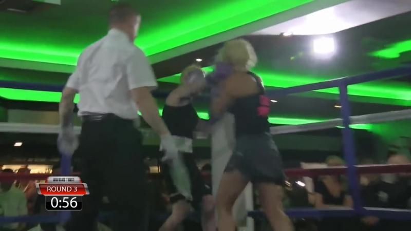 Debbie Short vs Sam Dekota BBU Boxing Who wants it most
