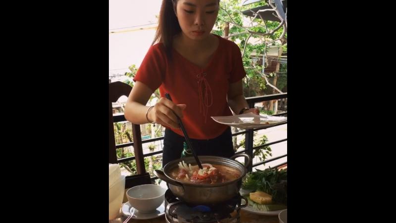 🌴🇻🇳а обед по расписанию🍲🥘😋 vietnam вьетнам солнечныйвьетнам nhatrang ньячанг мойдекабрь2017