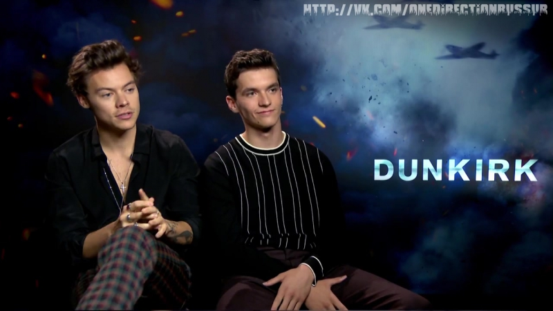 Harry Styles 'walks out' of Dunkirk interview Harry Styles and Fionn Whitehead describe their ideal movie night Dunkirk intervie