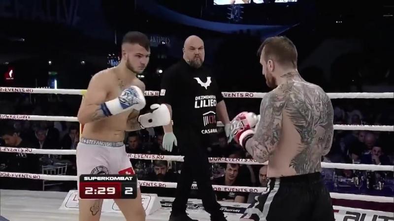 Daniel Stefanovski (Switzerland) vs Alex Filip (Romania) SUPERKOMBAT _ March 12