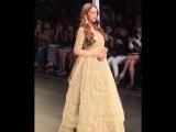 Aditi Rao Hydari looks like a dream on the runway for Payal Singhal at the Lakme Fashion Week.