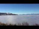 Вид на Альпы с горного массива Жура