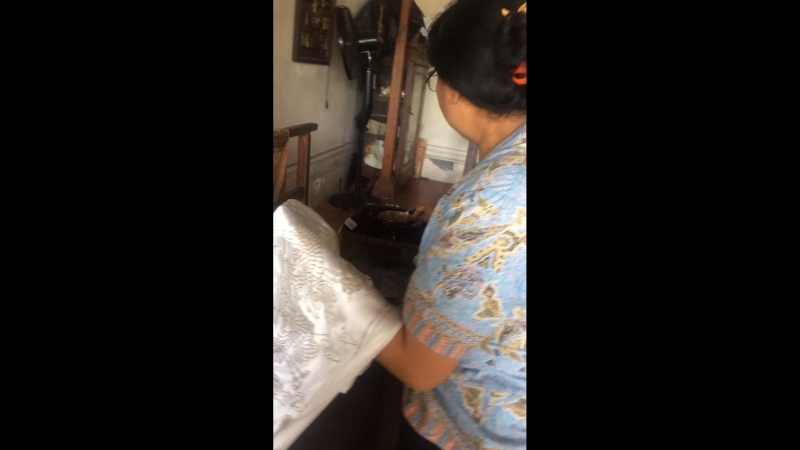 Bali узор воском