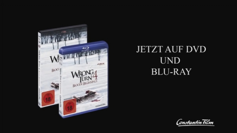 Поворот Не Туда 4: Кровавое Начало — DVD-трейлер (2011)