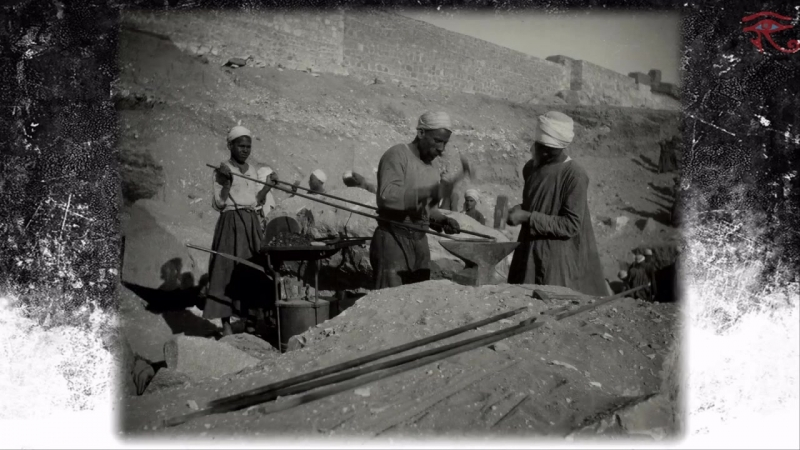 Раскопки в Абидосе, Египет, 1920-е г. ⁄ The excavations at Abydos, Egypt, 1920