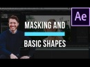 How To Add Masks and Basic Shapes in After Effects - After Effects Basics Course Video 4