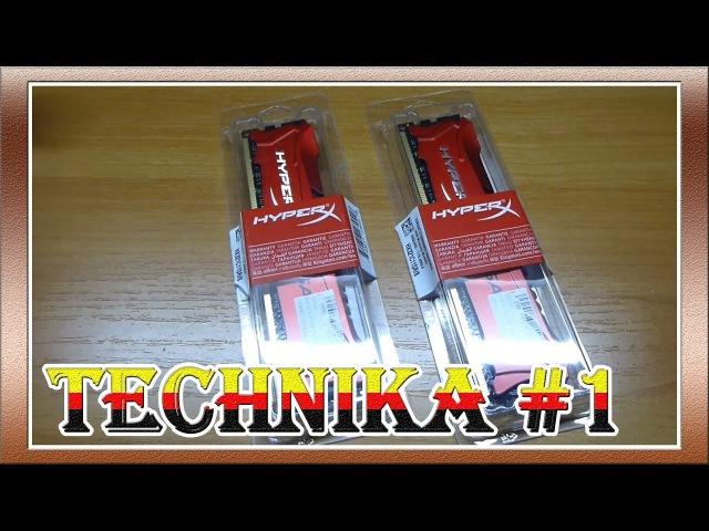Техника 1 - Обзор Оперативной Памяти 8Gb PC3-17000 2133MHz DDR3 DIMM CL11 Kingston HX321C11SR8