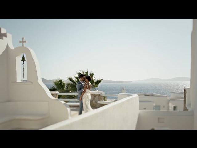 GaelleHabib wedding in Mykonos/ Свадьба на Миконосе