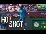 Hot Shot: Monfils Strikes Backhand Pass In Indian Wells 2018