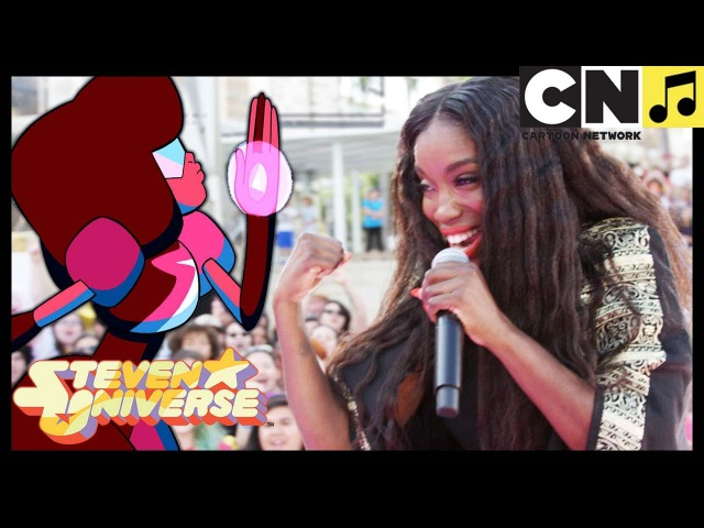Steven Universe | Stronger Than You - Estelle Performs LIVE (MUSIC VIDEO) | Cartoon Network