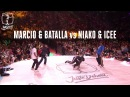 Hip Hop battle semi final Niako Icee vs Batalla Marcio