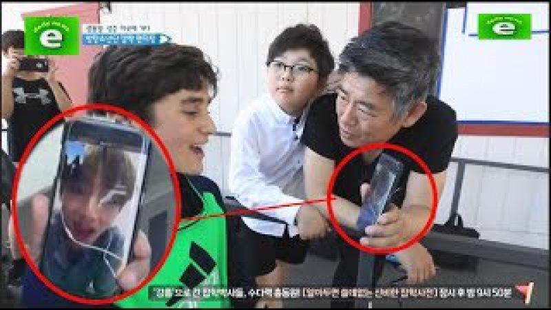 [eng sub]방탄소년단 뷔랑 통화해서 난리나버린 해외 소년팬~!! 귀여워~!! BTS V~!! Make a v