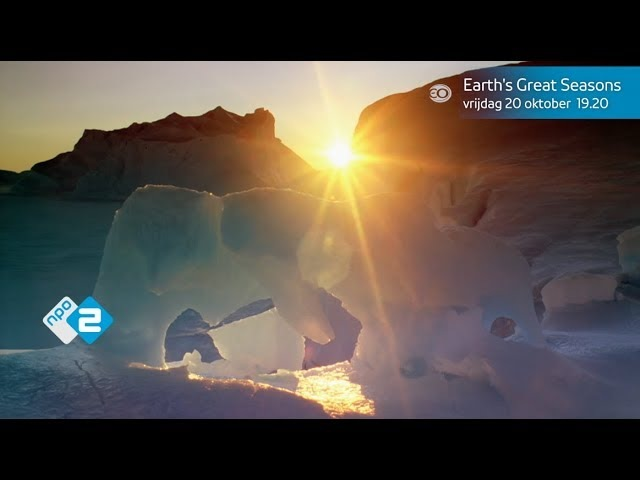 Earths Great Seasons | Promo | 20 oktober 19.20 uur | NPO 2