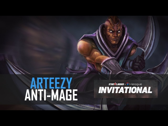 Arteezy (Anti-Mage) EG vs Blue Pikachu @ NA Quals. SL i-League Invitational S3
