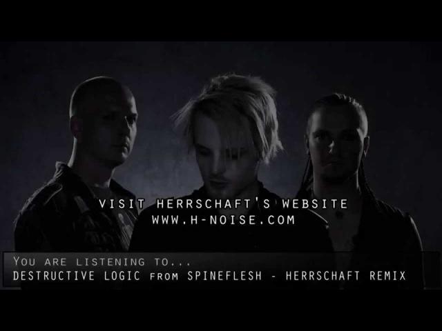 DESTRUCTIV LOGIK - SPINEFLESH - Remix by HERRSCHAFT