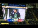 Former Springfield Indians Scott Daniels drops puck at Thunderbirds game