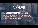Nuke. VFXLab || Установка плагинов и гизм в Nuke