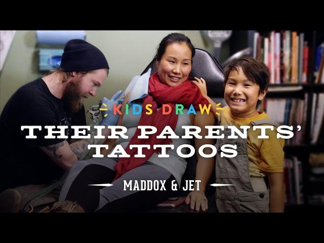 Maddox Designs a Tattoo for His Mom | Kids Draw | Cut