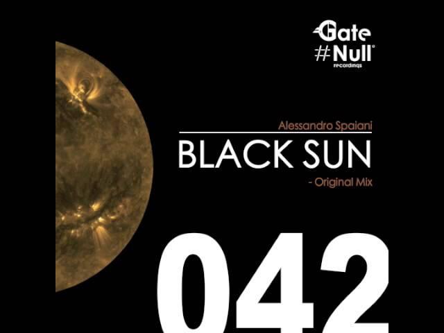 Alessandro Spaiani - Black Sun (Original Mix)