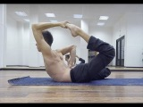 Andrey Predein. Yoga Gymnastics. Fragments of training