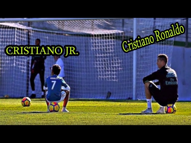 This is How Cristiano Ronaldo Trains His Son - Cristiano Jr. ● Best Father Son●