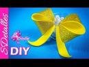 Como hacer Moños Lazos de Foami 1 Video 97 SDetalles DIY