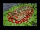 Мясо Гармошка.Отличный вариант для праздничного стола!