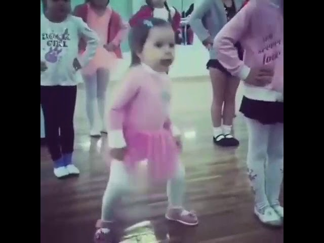 Being Normal is Boring | Dancing Baby | Cute little Girl Dancing Lesson