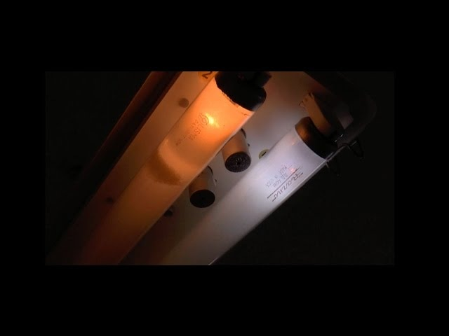 EOL - Razno Lisma fluorescent tubes burnout T12 40W