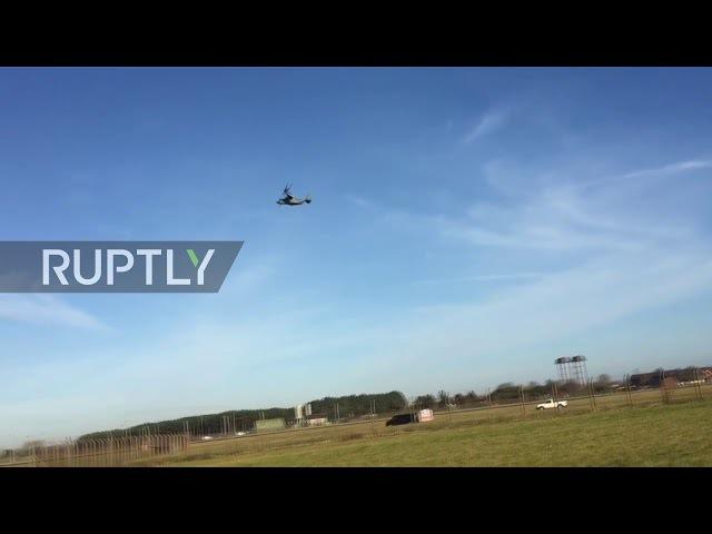 UK: Gunshots fired during security breach at Suffolk airbase