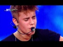 MTV World Stage Justin Bieber - One Time