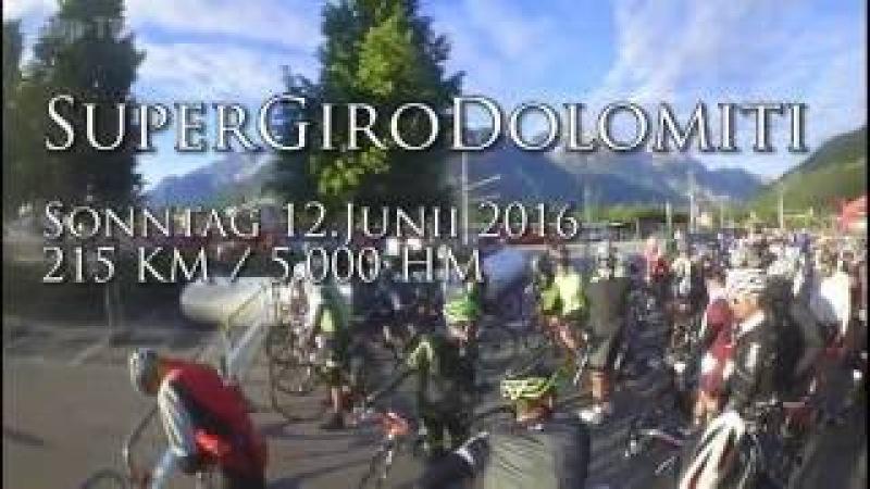 Super Giro Dolomiti Rennrad-Marathon / Rennen 12.06 2016 v. 1.1
