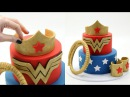 How To Make A WONDER WOMAN Cake!