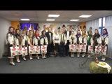 """Ansamblul """"Vatra Satului"""" în vizită la Sputnik Moldova cu prilejul Sfântului Vasile"""