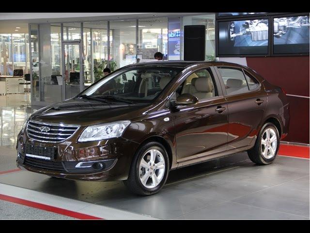 Chery A19 (Chery E3). Бюджетный седан из Китая Чери А19.