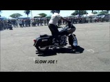 Harley Drifting &amp Burn Outs