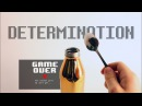 Undertale - DETERMINATION using a metal water bottle
