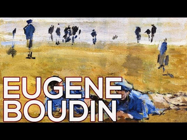 Eugene Boudin: A collection of 1163 works (HD)