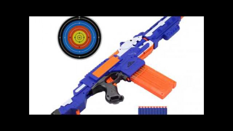Electrical Toy Gun, Sniper Rifle, Plastic Gun with Soft Bullet – Perfect Gift for Nerf Gun Loving Ch