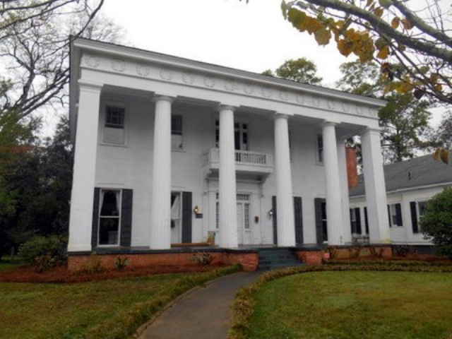 Antebellum Greek Revival Georgia Mansion -- video tour (SOLD)