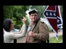 N.C. Man With Confederate Flag & AR-15 Gets CONFRONTED By Protesters In Charlottesville!