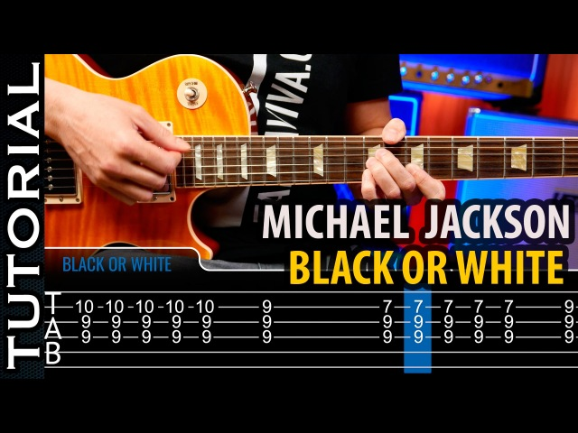 Cómo tocar Black Or White en guitarra - Michael Jackson / Riff de Slash | Guitarraviva