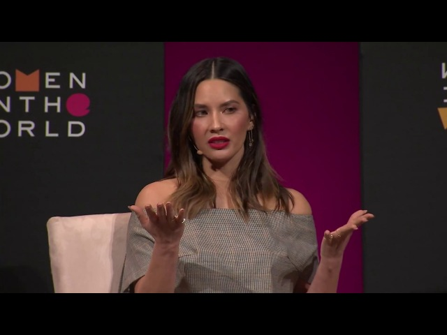 Olivia Munn at the 2018 Women in the World Los Angeles Salon: 'What happened to me'