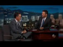 Stephen Colbert Tells why he did not remember telling Jimmy Kimmel about Trump