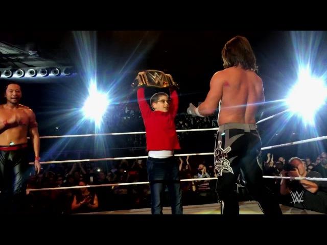 Styles, Nakamura make fan feel like a champion in Padova, Italy