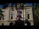 Castellers de Barcelona: 4 de 9 amb folre Diada de Festa Major del Clot-Camp de l'Arpa
